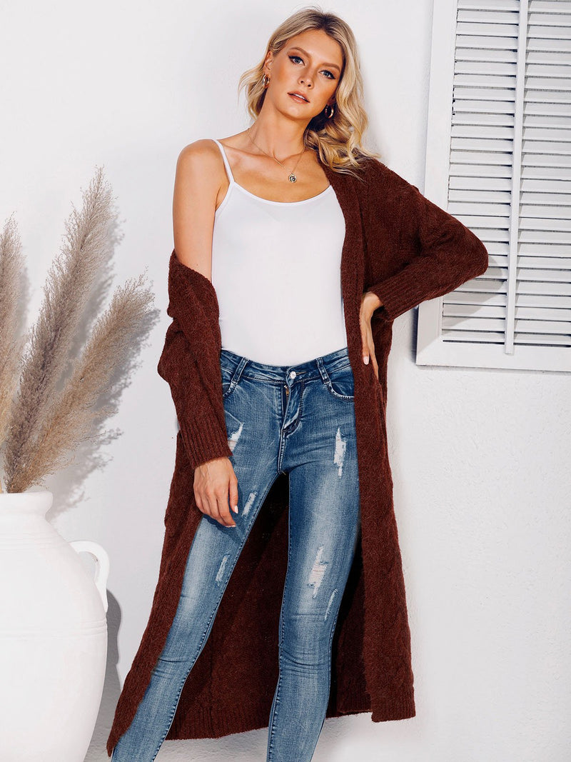 Casual Shift V Neck Long Sleeve Sweater