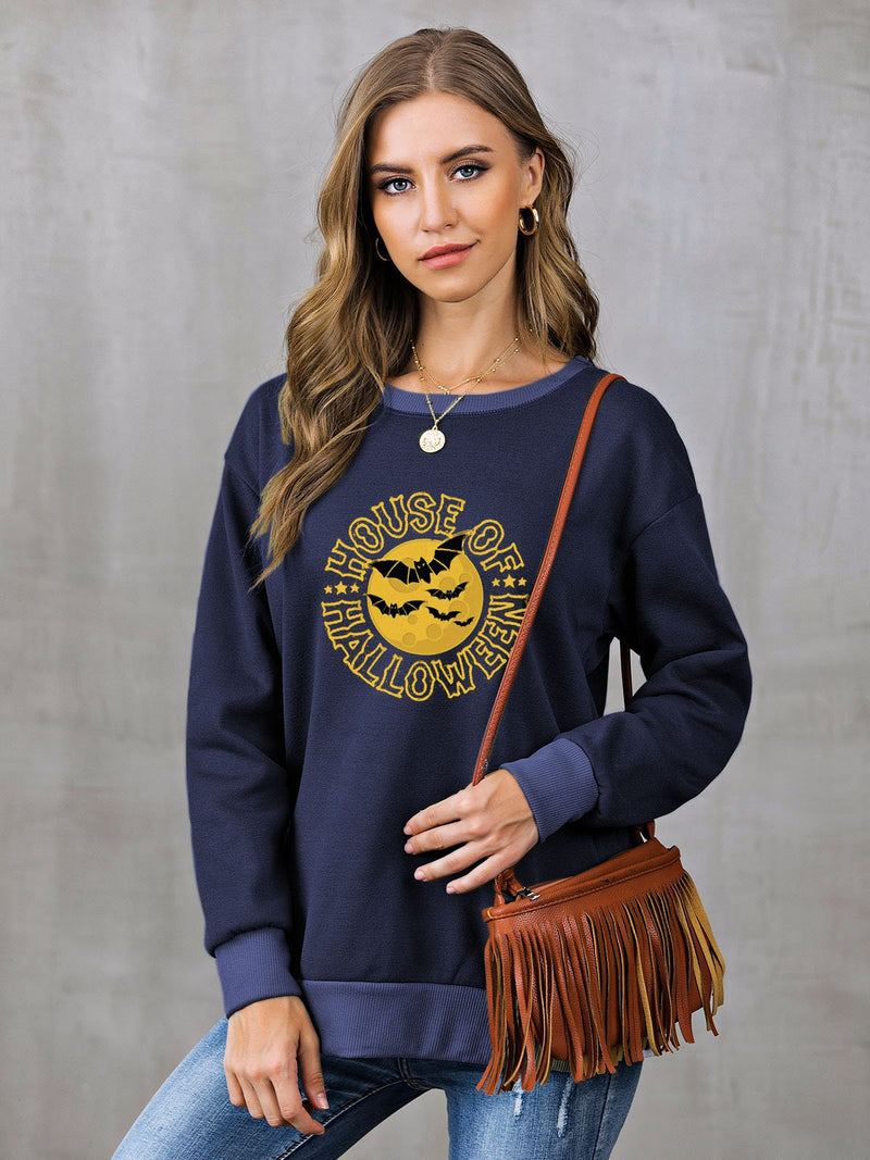 Casual Shift Long Sleeve Sweatshirt