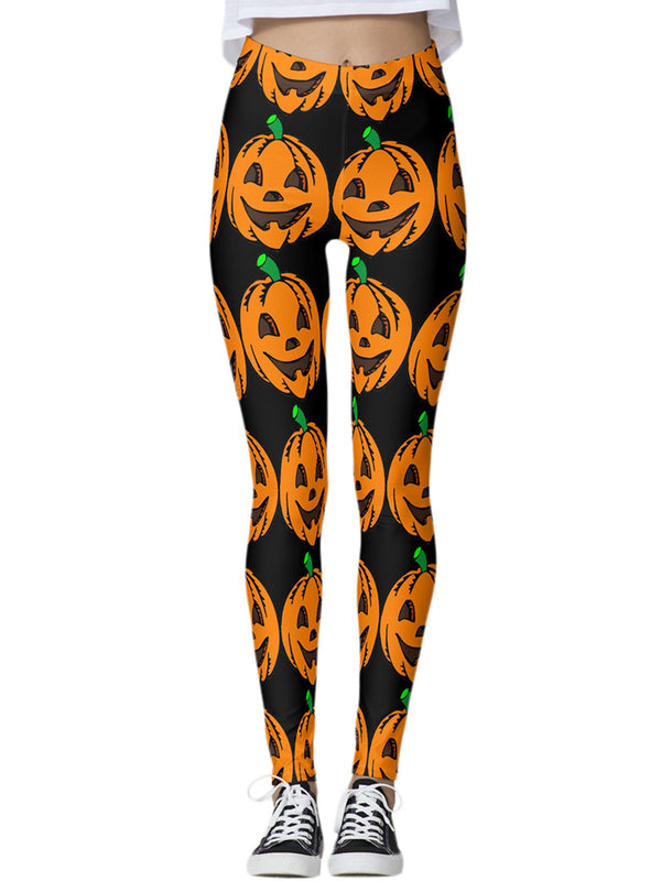 Halloween Tights Thong Pants