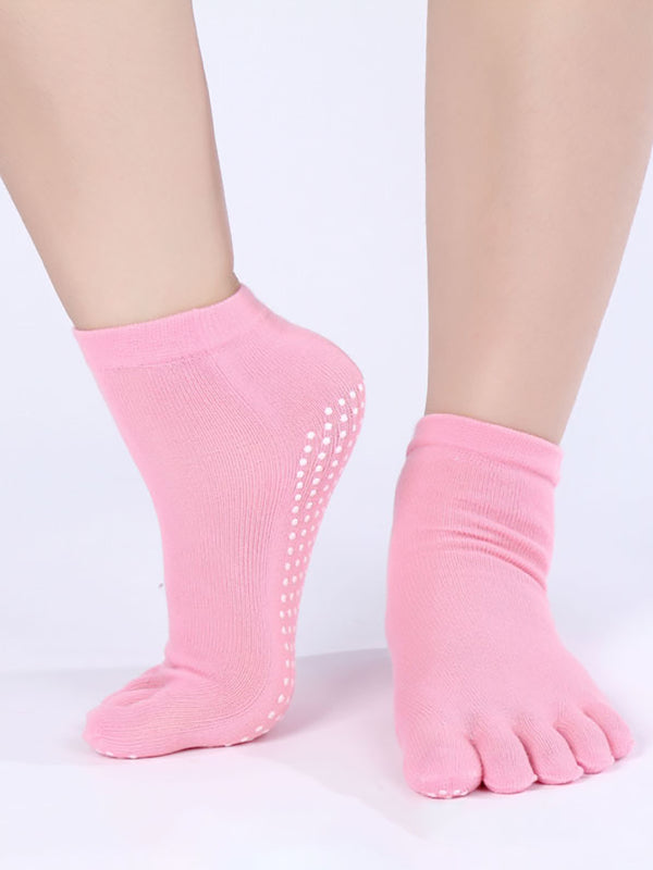 Womens Fingers Cotton Socks