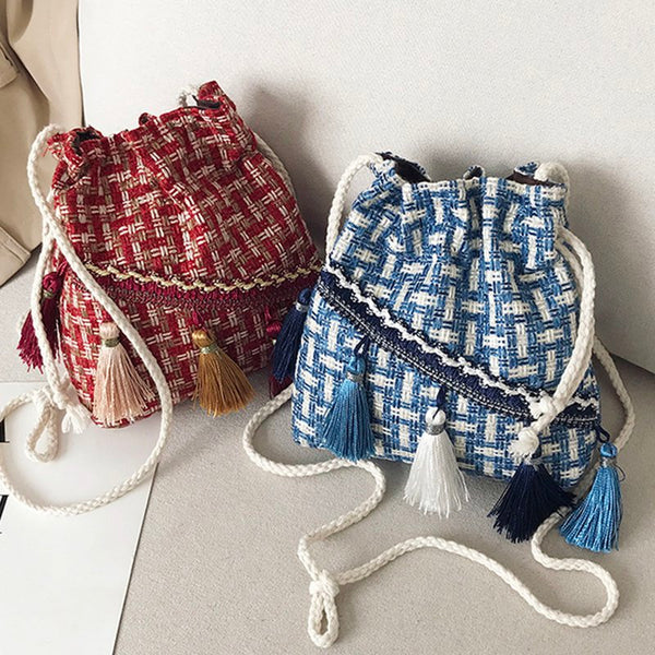 Cute Drawstring Women's Bags