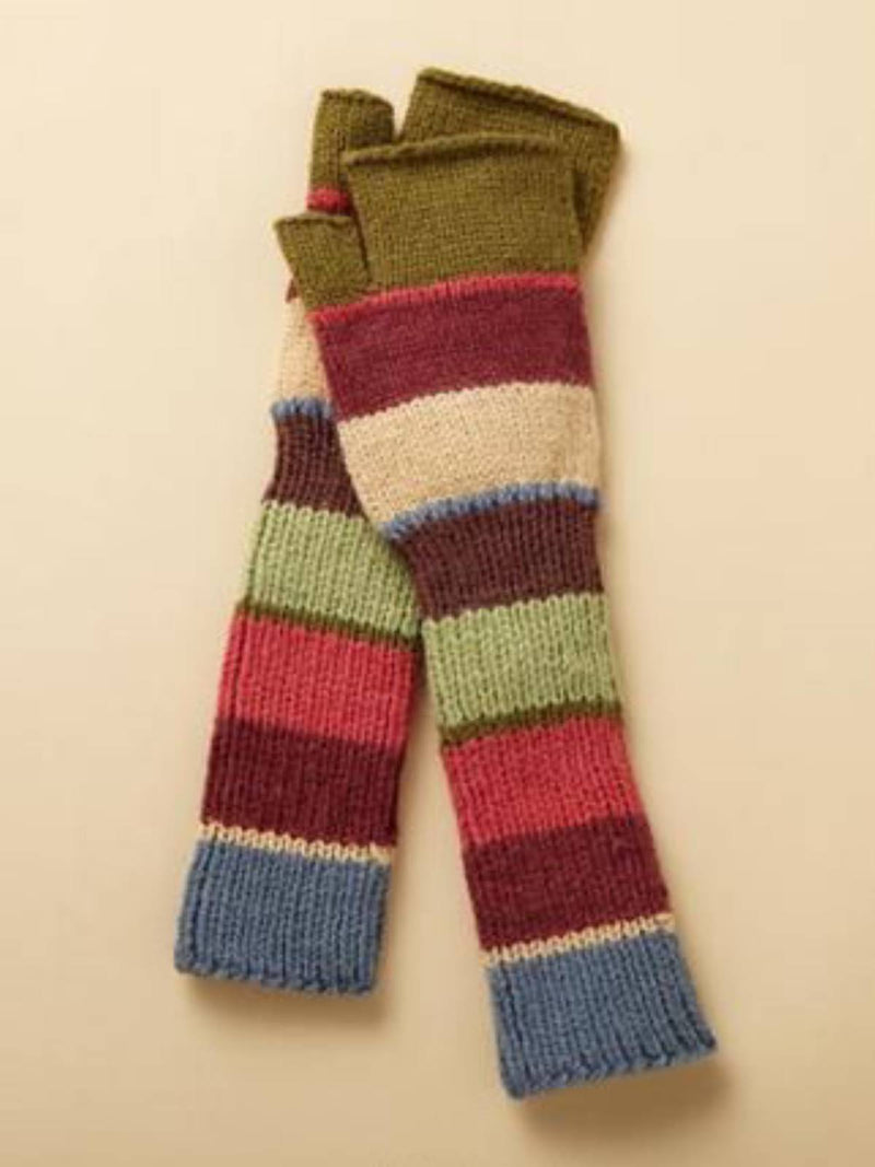 Multicolor Vintage Cozy Warm Knitted Gloves & Mittens