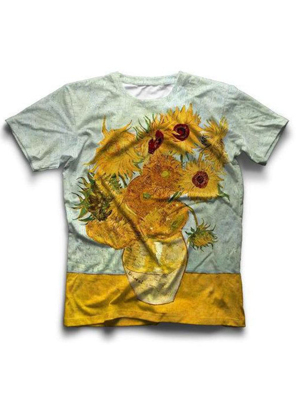 Women Gray Floral Vintage Shirts & Tops