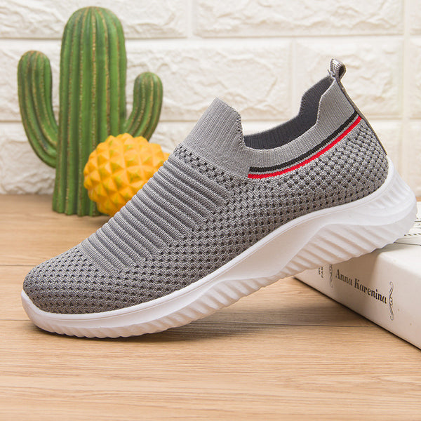 All Season Woven Mesh Flat Heel Sneakers