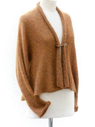 Brown Knitted Vintage Sweater