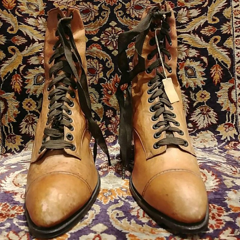 Brown Lace-Up Daily Spring/fall Women's Shoes