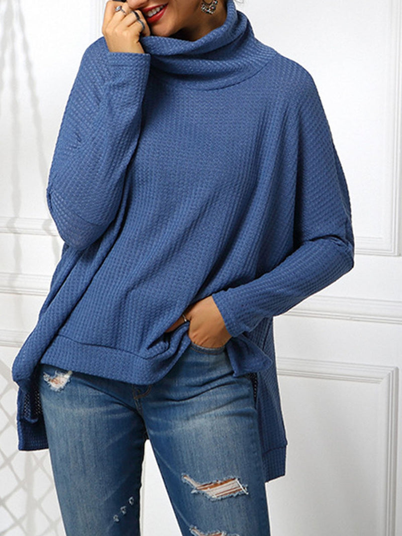 Stand Collar Casual Sweater