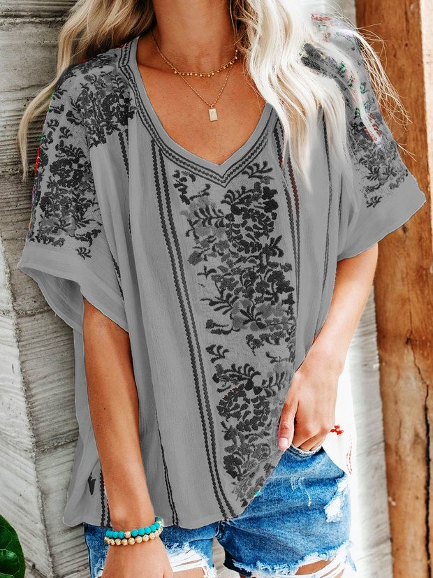 Short Sleeve Casual Shirts & Tops