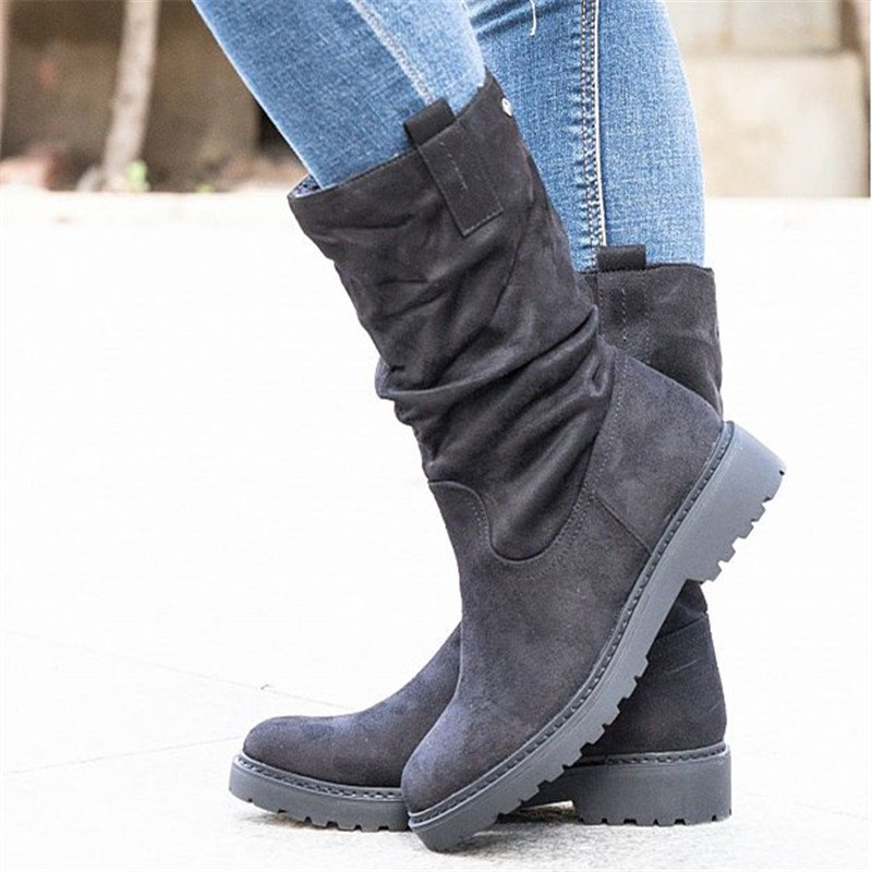 Women Casual Daily Slip On Boots