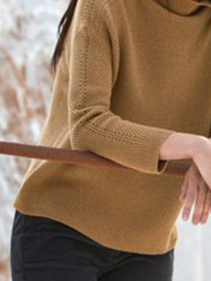 Solid Simple & Basic Sweater