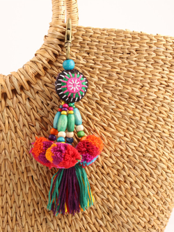Multicolor Boho Casual Keychains