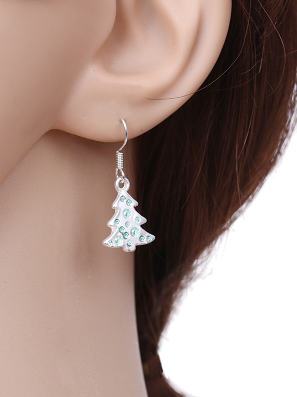 Christmas Alloy Earrings