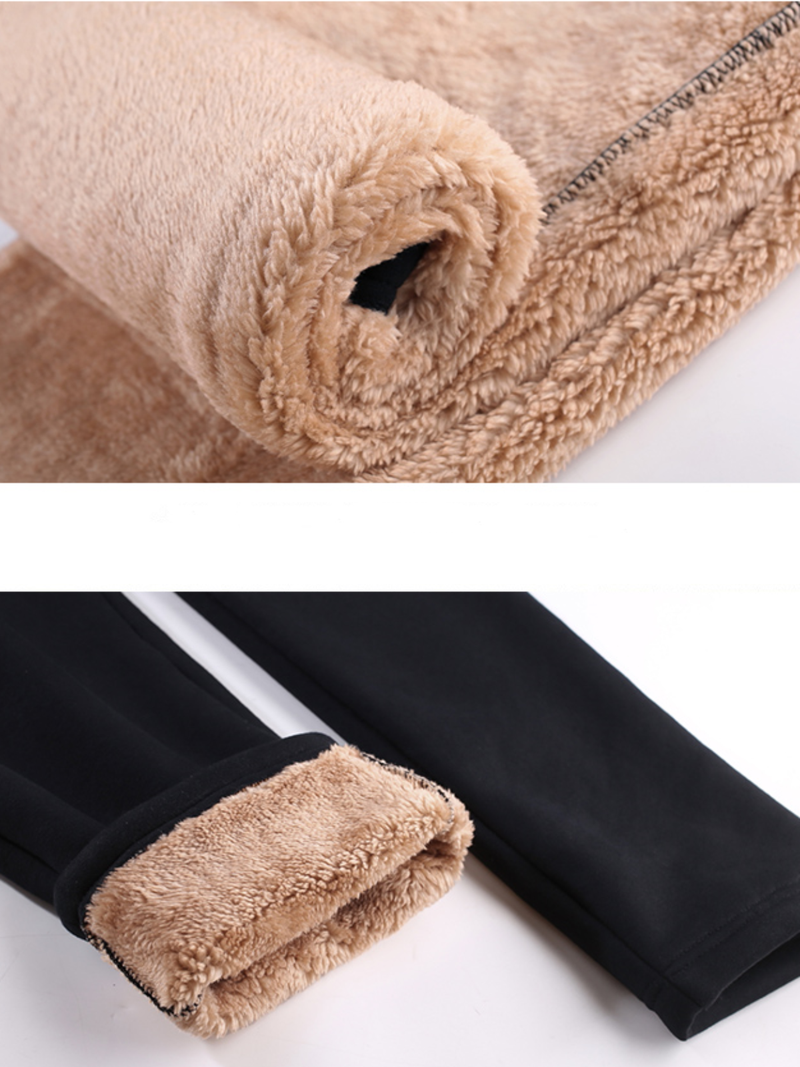 Plus size Cotton Warm Winter Pants