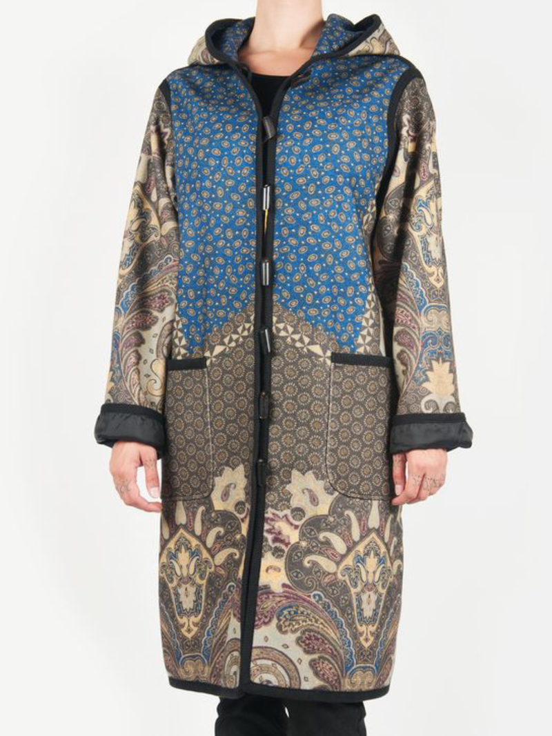 Plus size Printed Vintage Outerwear