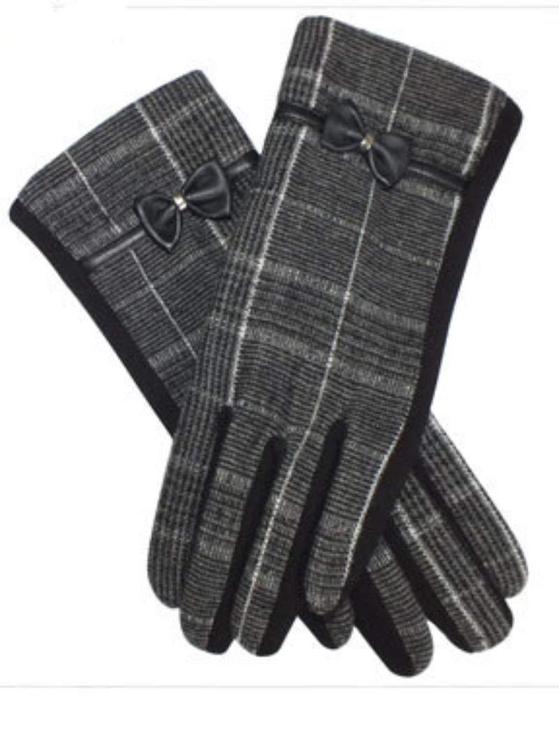 Winter British Plaid Gloves & Mittens