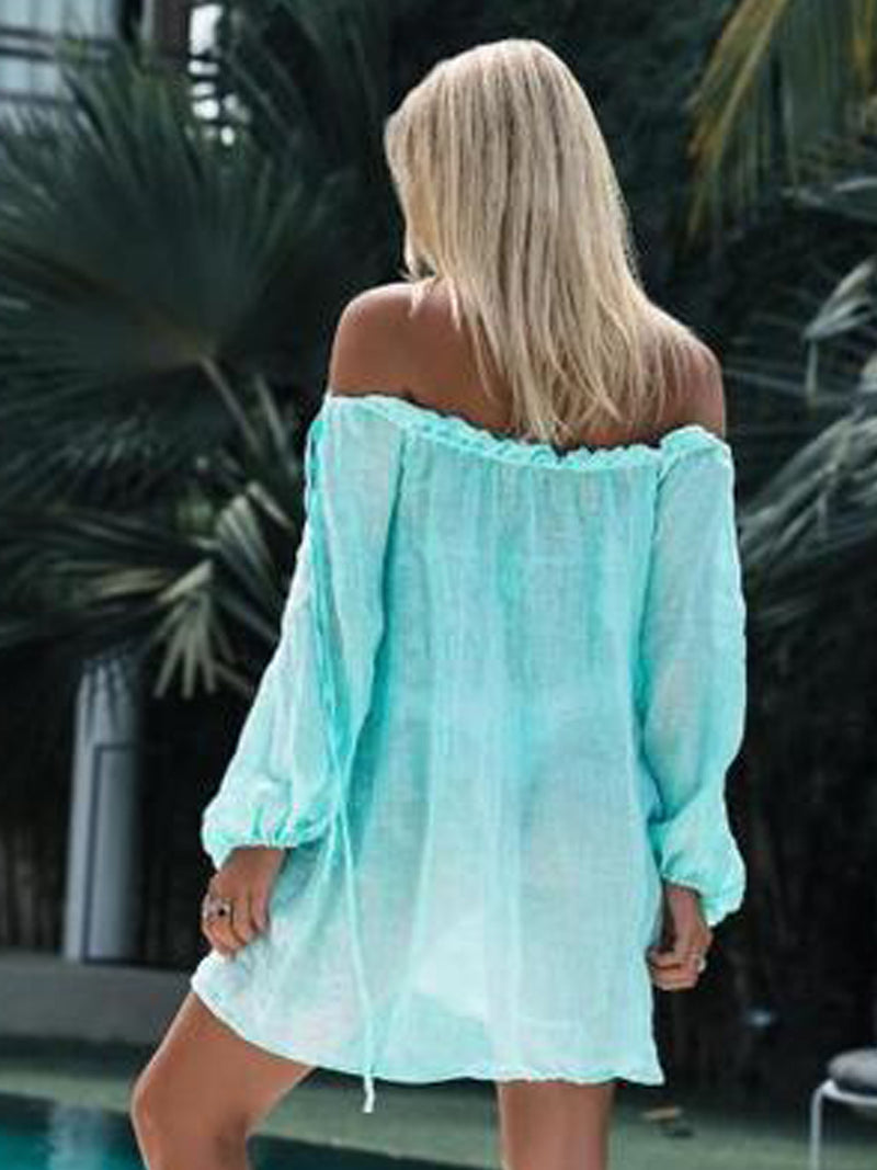 Holiday Long Sleeve Swimwear