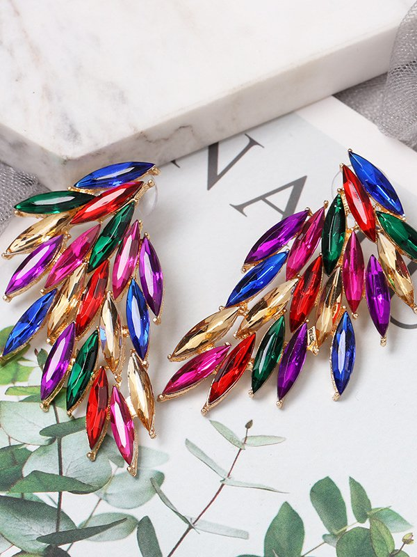 Multicolor Casual Earrings