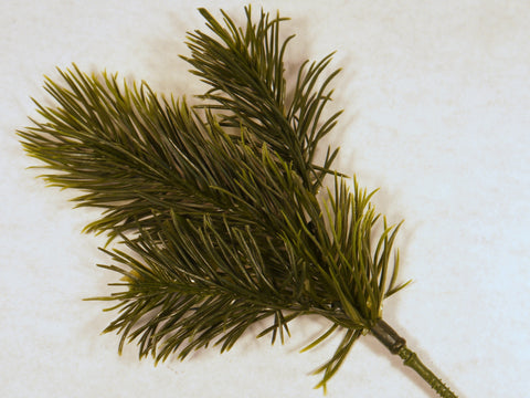 Artificial Pine Greenery Pick 11''