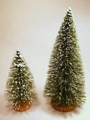 Bottle Brush Christmas Trees 6.5'' and 10''