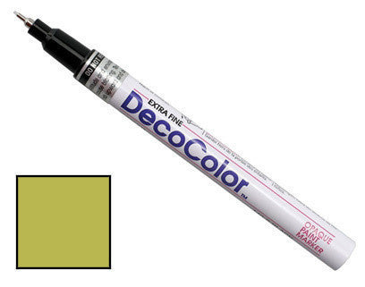 DecoColor Extra-Fine Paint Marker - Liquid Gold