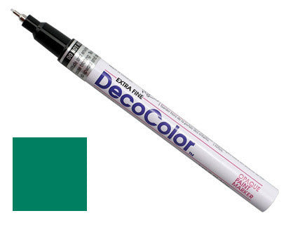 DecoColor Extra-Fine Paint Marker - Green