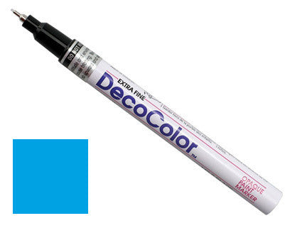 DecoColor Extra-Fine Paint Marker - Light Blue