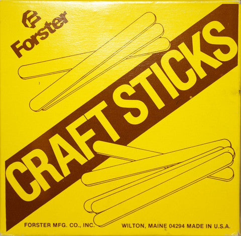 Forster Craft Sticks 1000 ct.