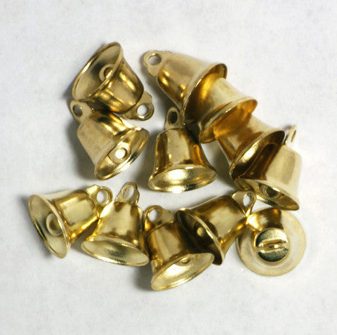 Gold Liberty Bell 14mm 144pcs