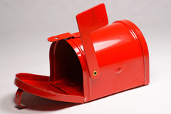 Red Miniature Metal Mail Box 3.5'' 1pcs