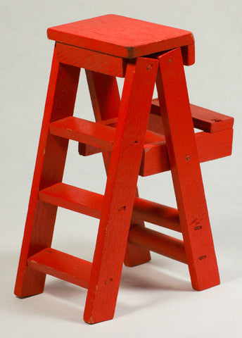 Red Ladder Ornament 1 pcs