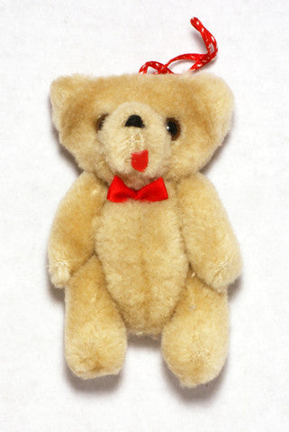 Jointed Plush Teddy Bear 4'' 6pcs