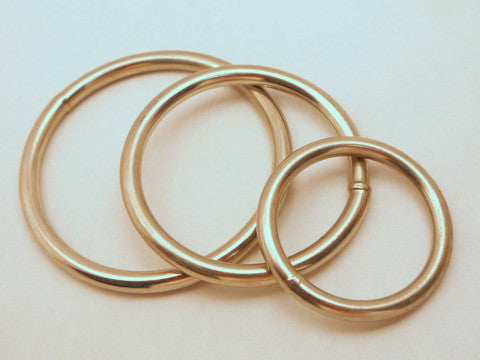 Welded Steel Metal Rings Thick Gauge 12pcs