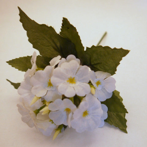 White Dogwood Silk Flowers 1''