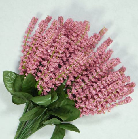 Dusty Rose Veronica Artificial Flowers