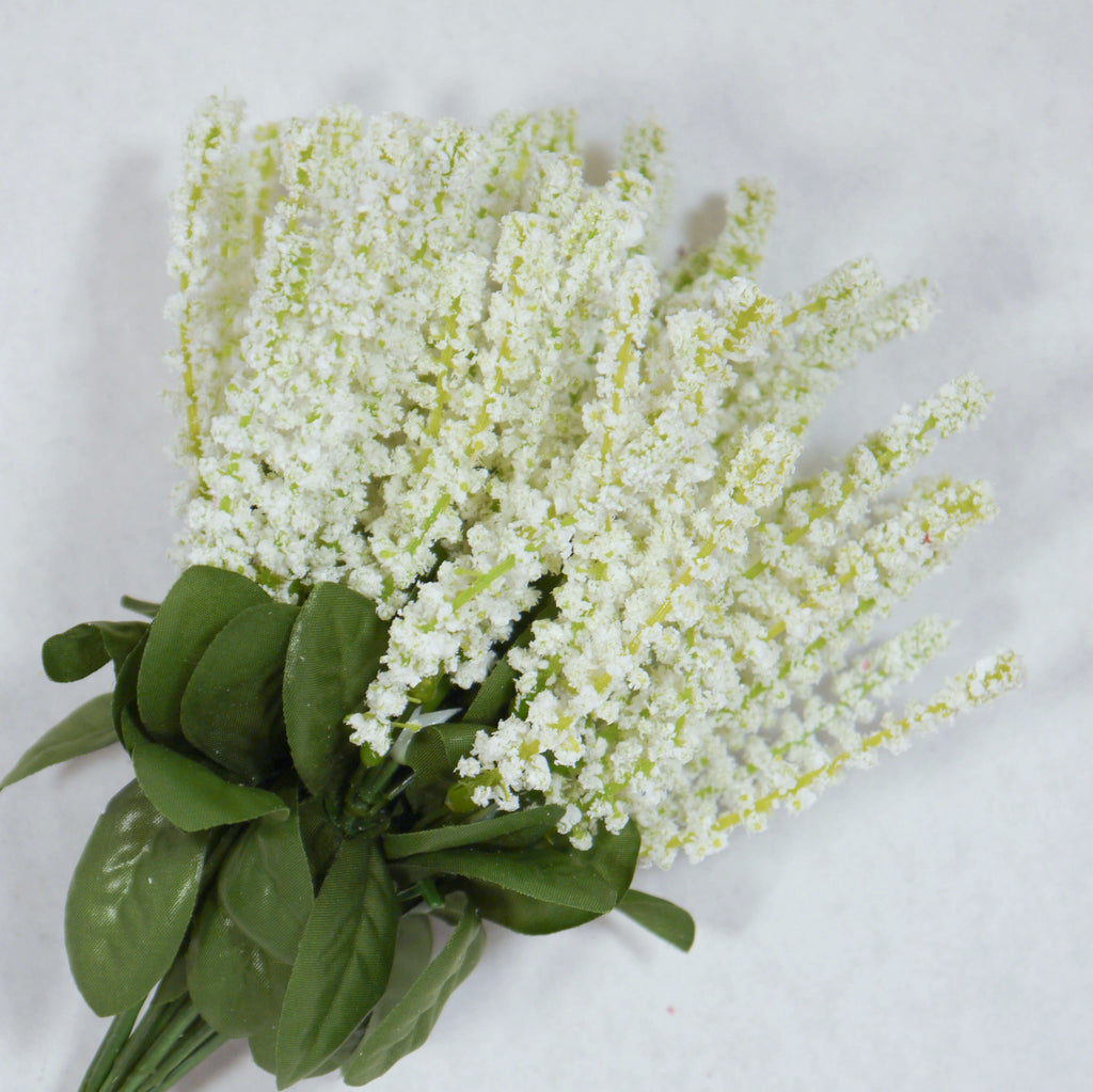 White Veronica Artificial Flowers Formosa Crafts