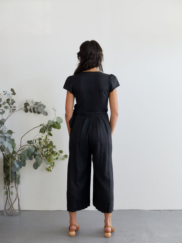 Angela jumpsuit black