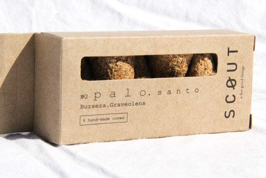 Palo Santo Cones, Pack of 6