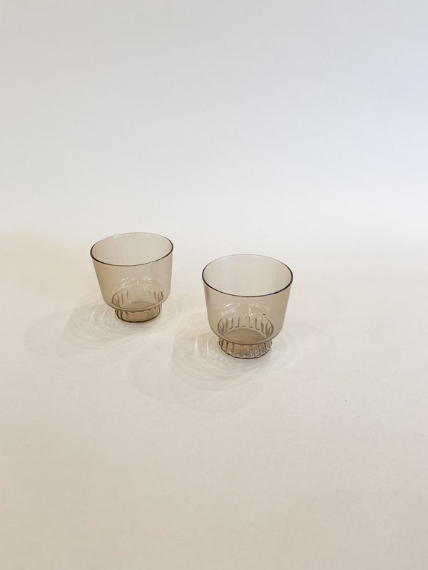Areaware Ridge Kitchen Glasses