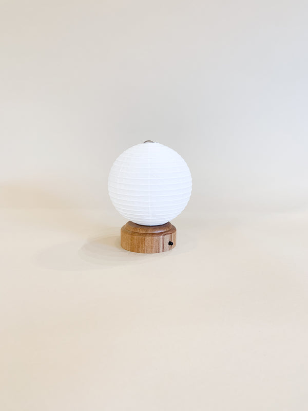 Asano Washi Paper Fruit Lantern LED Light