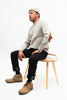 Organic Highland Wool Crewneck Sweater