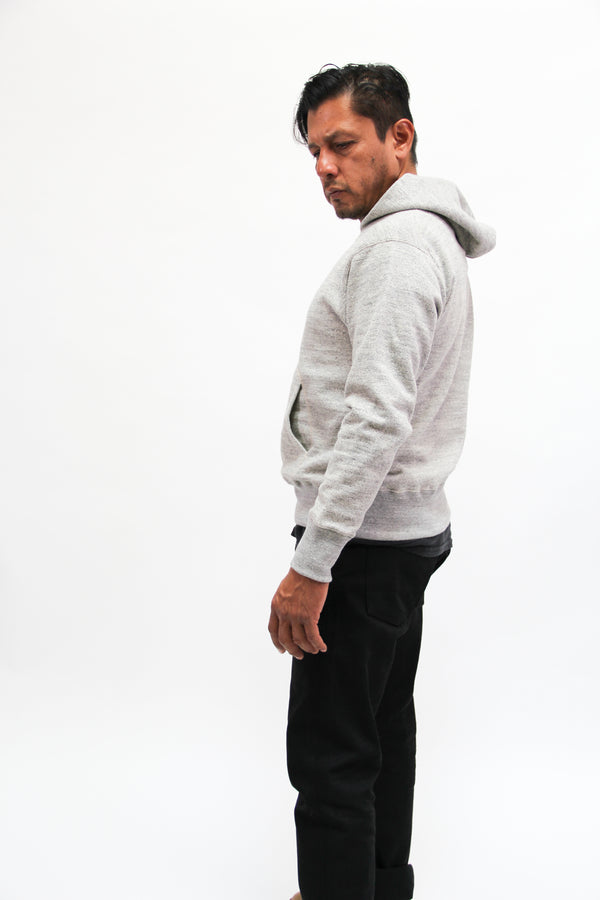 Jackman Sweat Pullover Parka, Heather Gray
