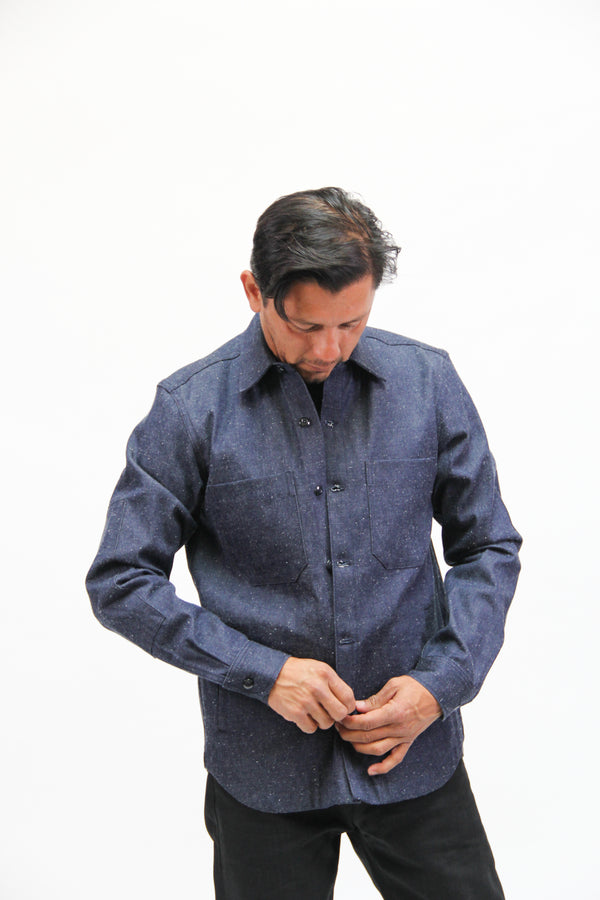 Patrol Work Shirt Neppy Denim