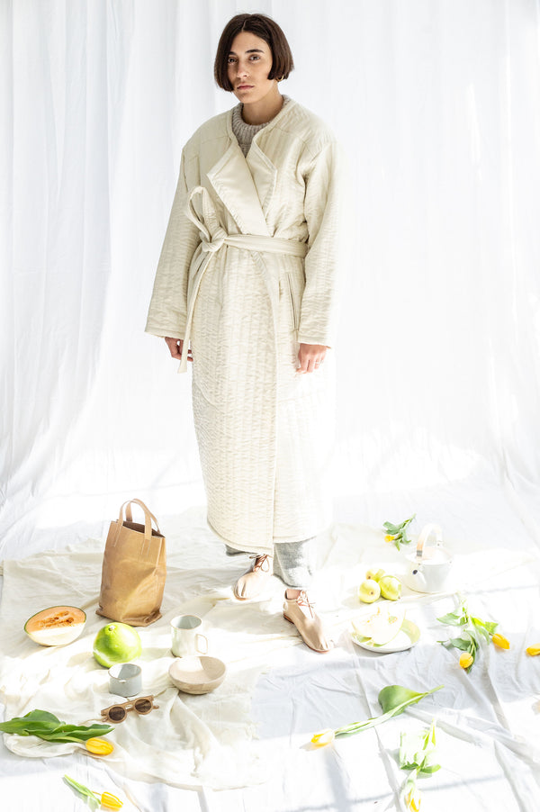 Lauren Manoogian Quilted Duvet Coat, Size2