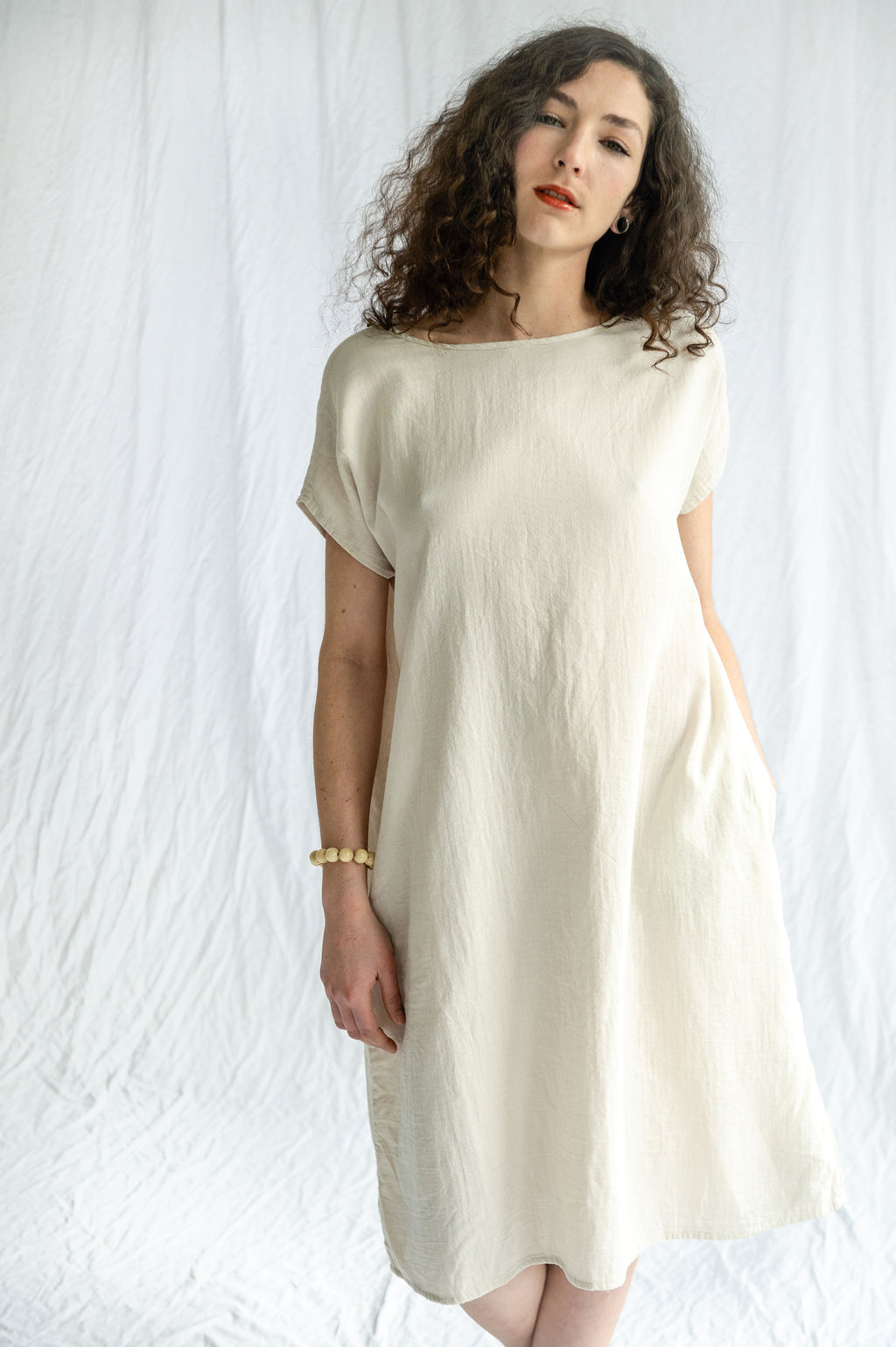 Pip-Squeak Chapeau Etc. Tee Gauze Dress