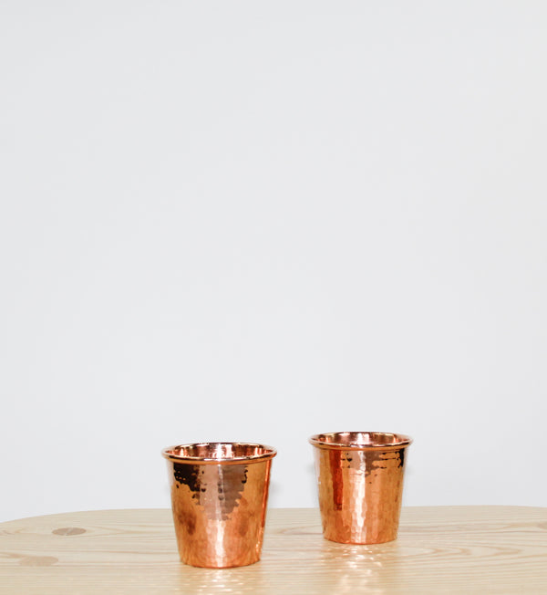 Copper Apa Cup