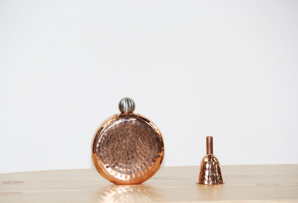 Copper Espadin Luna Flask