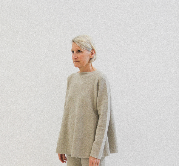 flare pullover pumice