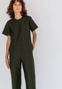 Crosby jumpsuit olive