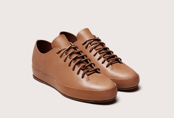 Feit Hand Sewn Low Shoe, Tan