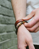Tanner Goods Matte Tigers Eye Bracelet